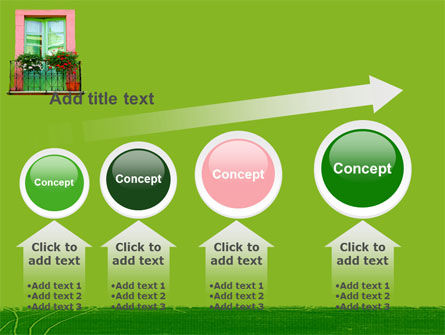 Green Apartment PowerPoint Template Slide 13