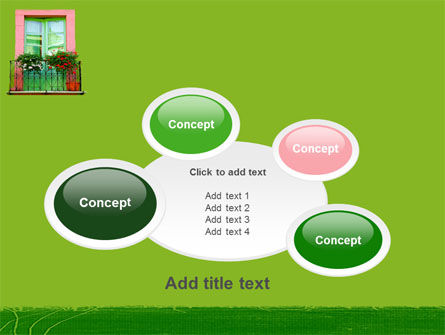 Green Apartment PowerPoint Template Slide 16