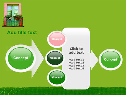 Green Apartment PowerPoint Template Slide 17