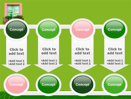 Green Apartment PowerPoint Template Slide 18