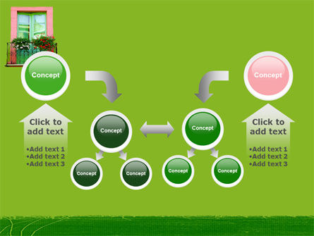 Green Apartment PowerPoint Template Slide 19