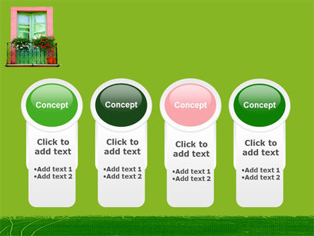 Green Apartment PowerPoint Template Slide 5