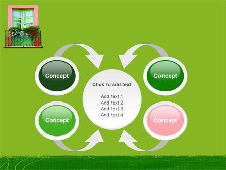 Green Apartment PowerPoint Template Slide 6