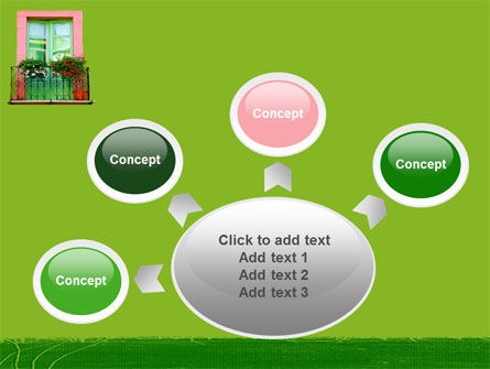 Green Apartment PowerPoint Template Slide 7
