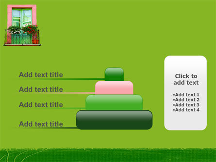 Green Apartment PowerPoint Template Slide 8