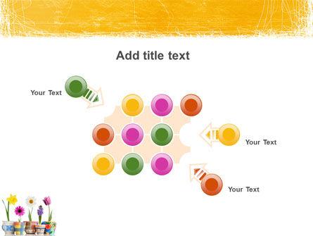Window Flowers PowerPoint Template Slide 10