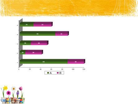 Window Flowers PowerPoint Template Slide 11