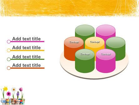Window Flowers PowerPoint Template Slide 12