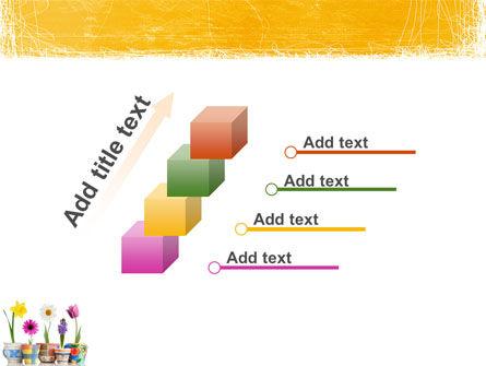 Window Flowers PowerPoint Template Slide 14