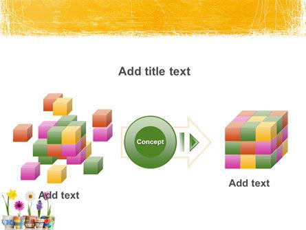 Window Flowers PowerPoint Template Slide 17