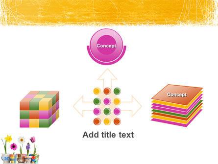 Window Flowers PowerPoint Template Slide 19