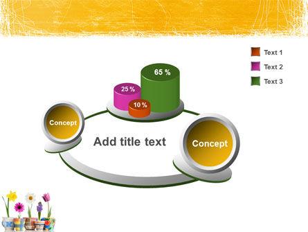 Window Flowers PowerPoint Template Slide 6