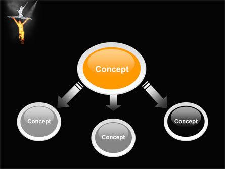 Modern Ballet PowerPoint Template, Slide 4, 05280, Art & Entertainment — PoweredTemplate.com