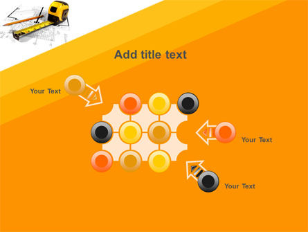 Tape Measure PowerPoint Template Slide 10