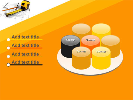 Tape Measure PowerPoint Template Slide 12