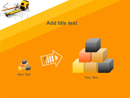 Tape Measure PowerPoint Template Slide 13