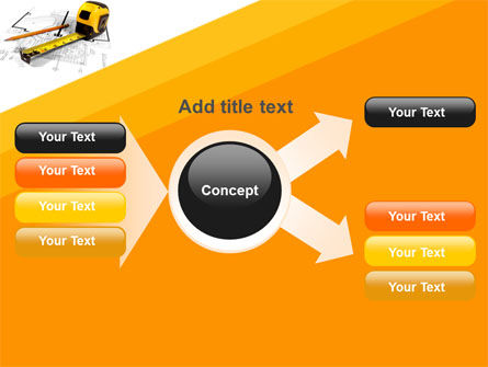 Tape Measure PowerPoint Template Slide 15