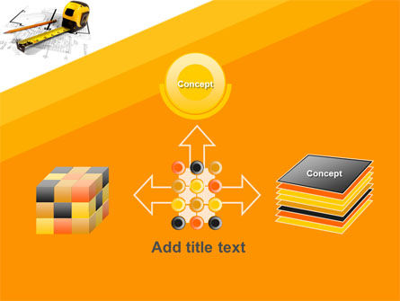 Tape Measure PowerPoint Template Slide 19