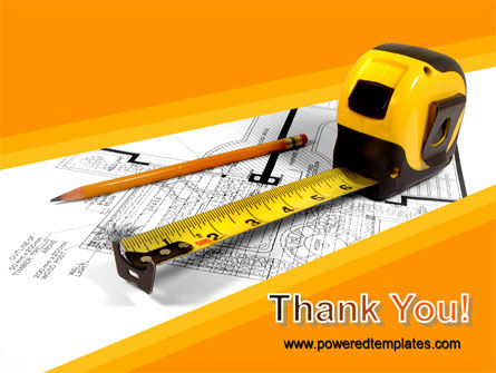 Tape Measure PowerPoint Template Slide 20