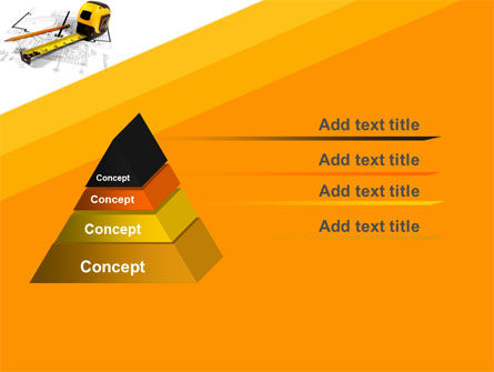 Tape Measure PowerPoint Template Slide 4