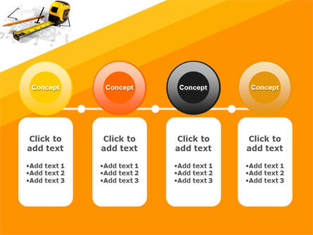 Tape Measure PowerPoint Template Slide 5