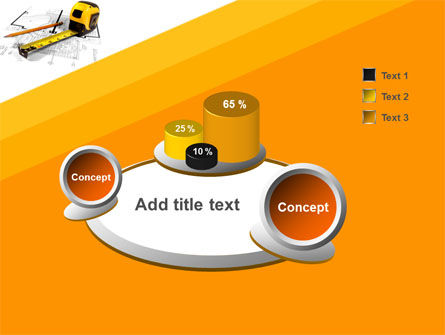 Tape Measure PowerPoint Template Slide 6