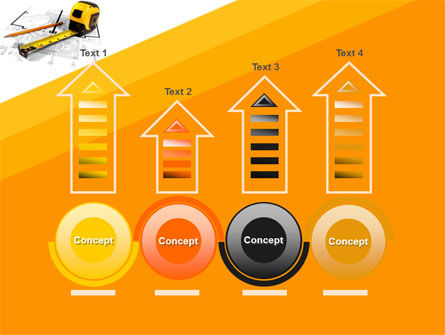 Tape Measure PowerPoint Template Slide 7