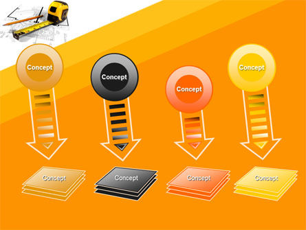 Tape Measure PowerPoint Template Slide 8