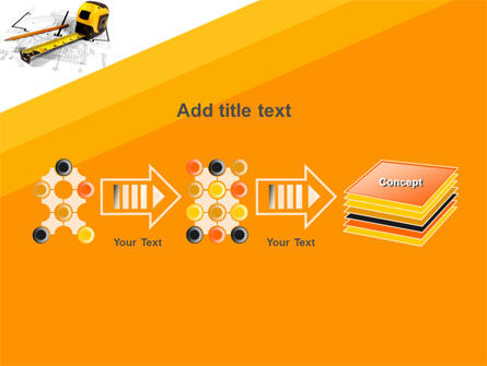 Tape Measure PowerPoint Template Slide 9