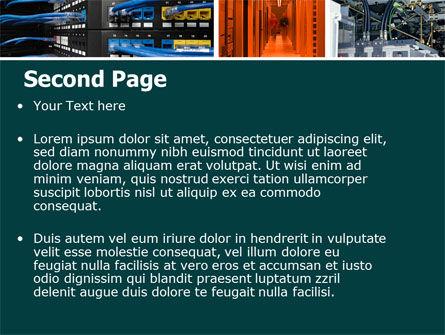 Communication Center PowerPoint Template, Slide 2, 05283, Telecommunication — PoweredTemplate.com