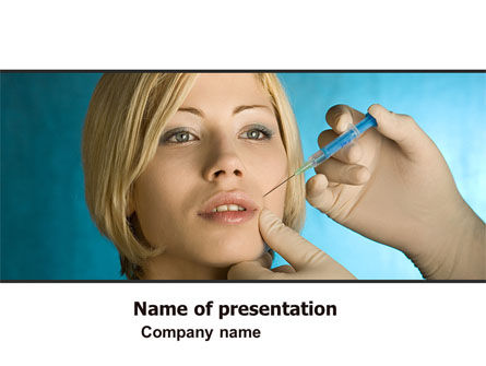 Medical: Eternal Youth PowerPoint Template #05284