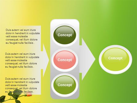 Lily Frame PowerPoint Template Slide 11