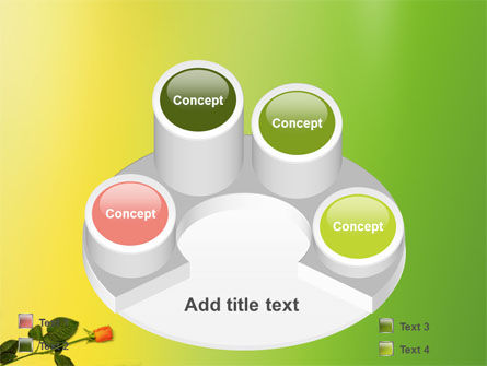 Lily Frame PowerPoint Template Slide 12