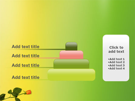 Lily Frame PowerPoint Template Slide 8