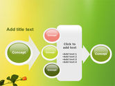 Lily Frame PowerPoint Template#17