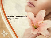 Health and Recreation: Lily PowerPoint Template #05288