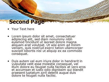 Blue Expanse PowerPoint Template, Slide 2, 05291, Health and Recreation — PoweredTemplate.com