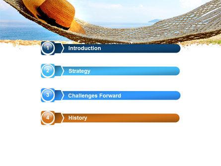 Blue Expanse PowerPoint Template, Slide 3, 05291, Health and Recreation — PoweredTemplate.com