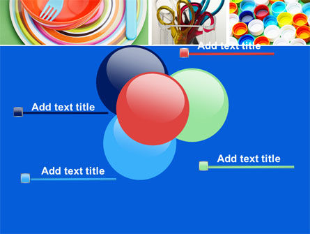 Plasticware PowerPoint Template Slide 10