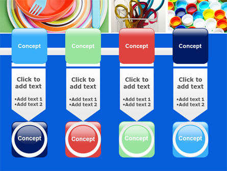 Plasticware PowerPoint Template Slide 18