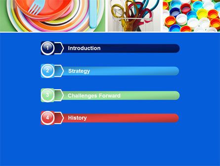 Plasticware PowerPoint Template Slide 3