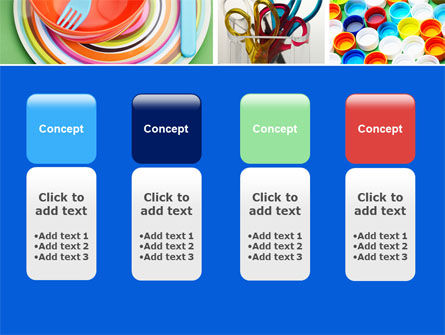 Plasticware PowerPoint Template Slide 5