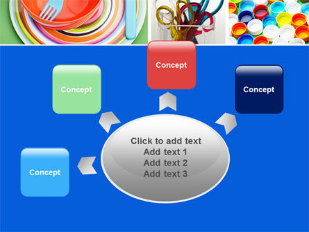 Plasticware PowerPoint Template Slide 7
