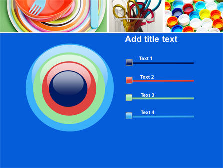 Plasticware PowerPoint Template Slide 9