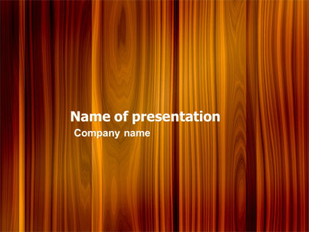 Wood PowerPoint Template, 05294, Abstract/Textures — PoweredTemplate.com