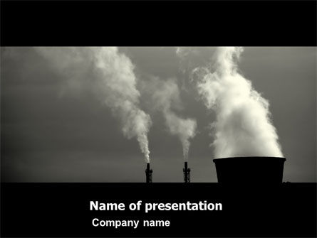 Utilities/Industrial: Power Plant PowerPoint Template #05295