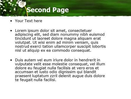 Taraxacum PowerPoint Template Slide 2