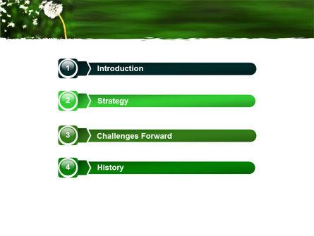 Taraxacum PowerPoint Template Slide 3