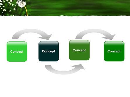 Taraxacum PowerPoint Template, Slide 4, 05297, Nature & Environment — PoweredTemplate.com