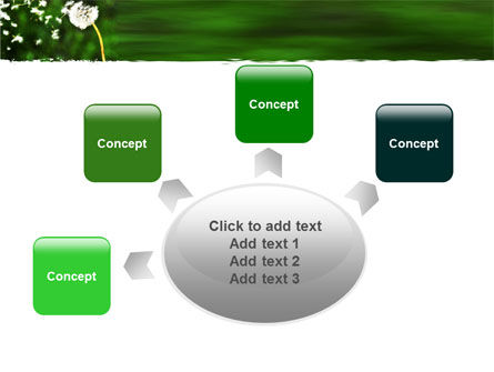 Taraxacum PowerPoint Template Slide 7